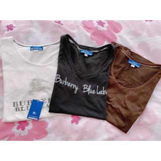 バーバリーブルーレーベル(BURBERRY BLUE LABEL)の美品❤︎バーバリーブルーレーベル❤︎Tシャツセット(Tシャツ(半袖/袖なし))