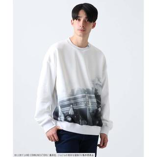TAKEO KIKUCHI - 【ジョジョの奇妙な冒険】さよなら杜王町 コラボスウェットシャツ / JOJO