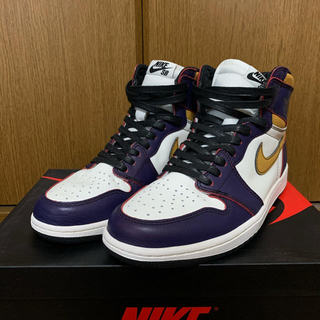 NIKE - Air Jordan 1 Sb la to Chicago ジョーダン シカゴ