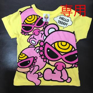 HYSTERIC MINI - ヒスミニ  テディTシャツ