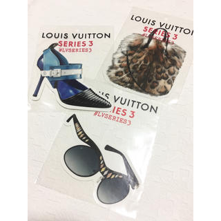 ルイヴィトン(LOUIS VUITTON)のルイヴィトン ステッカー 3種(シール)