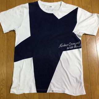 RODEO CROWNS - ロデオ Tシャツ