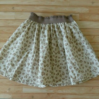 GU - ☆新品&未使用【ジーユー】キッズ 女の子 レオパード柄スカート 130㎝☆