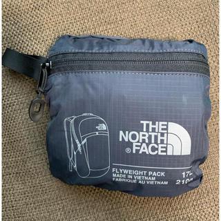 THE NORTH FACE - 美品 THE NORTH FACE 軽量折り畳みリュック 17L