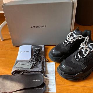Balenciaga - BALENCIAGA トリプルs ブラック 42 27.5