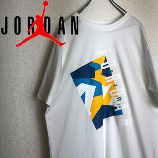 NIKE - 【人気】ジョーダン Tシャツ デカロゴ プリントロゴ 人気カラー