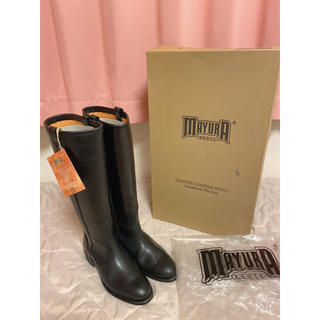 ドゥーズィエムクラス(DEUXIEME CLASSE)の新品 マユラ MAYURA 乗馬ブーツ サルトル ファビオルスコーニ(ブーツ)