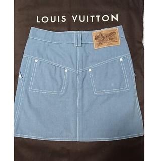 ルイヴィトン(LOUIS VUITTON)のルイヴィトン♡LOUIS VITTON ミニスカート サイズ34(ミニスカート)