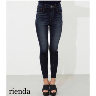 rienda - rienda 新品 Liberty Denim J/Wアンクルパギンス2