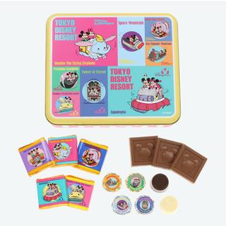 Disney - ディズニー レトロ柄 チョコレート