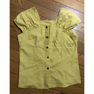 ディーホリック(dholic)のDHOLIC 黄色 夏服(Tシャツ/カットソー)