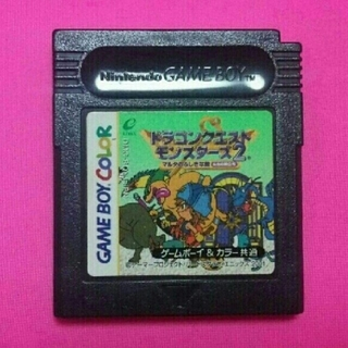 ゲームボーイ(ゲームボーイ)のゲームボーイカラーソフト、ドラゴンクエストモンスターズ2、ソフトのみ(携帯用ゲームソフト)