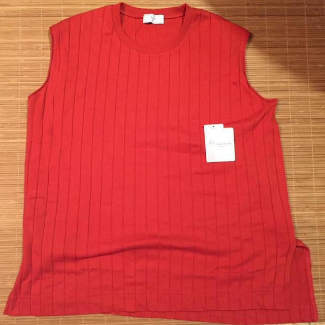 IENA SLOBE(イエナスローブ)のSLOBE IENA ノースリーブニット レディースのトップス(カットソー(半袖/袖なし))の商品写真