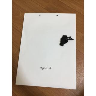アニエスベー(agnes b.)のギフト用の紙袋 リボン付き(ショップ袋)