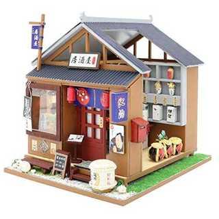 とある居酒屋 DIY ミニチュアドールハウス(模型/プラモデル)