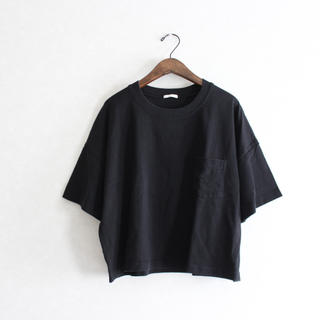 GU - GU ジーユー クロップドTシャツ オーバーサイズ ゆるT