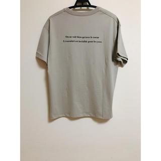 イエナ(IENA)の新品 イエナ Le Petit Prince バック ロゴTシャツ C(Tシャツ(半袖/袖なし))