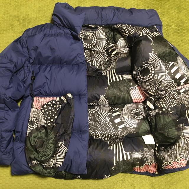 UNIQLO(ユニクロ)のユニクロ マリメッコ  ダウン  Sサイズ レディースのジャケット/アウター(ダウンジャケット)の商品写真