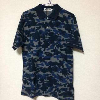 アベイシングエイプ(A BATHING APE)の新品 A BATHING APE アベイシングエイプ ポロシャツ カモフラ(ポロシャツ)