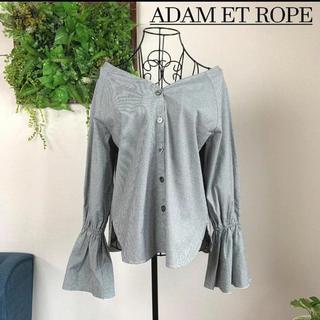 Adam et Rope' - 【美品】ADAM ET ROPE アダムエロぺ ブラウス