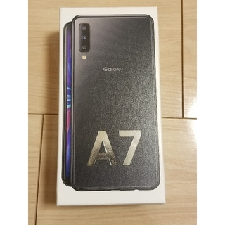 SAMSUNG - <新品·未開封> Galaxy A7 ブラック 64GB SIMフリー
