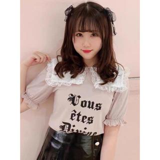 アンクルージュ(Ank Rouge)のAnk rouge ピンクTシャツ 新品(Tシャツ(半袖/袖なし))