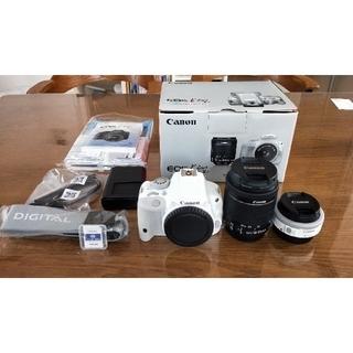 Canon - EOS Kiss X7 ダブルレンズキット 美品