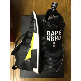 NEIGHBORHOOD - neighborhood APE  adidas NMDstealth 28.5