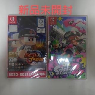 Nintendo Switch - eBASEBALLパワフルプロ野球2020/スプラトゥーン2【セット】