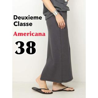 DEUXIEME CLASSE - 【Americana/アメリカーナ】THERMAL スカート ブラック A 38
