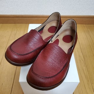 リゲッタ(Re:getA)の美品 リゲッタ RegetA ローファー ドライビングシューズ Sサイズ(ローファー/革靴)