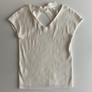 PROPORTION BODY DRESSING - プロポほぼ新品*バックリボンサマーニット