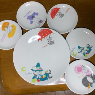 リトルミー(Little Me)のムーミン お皿6枚セット(食器)