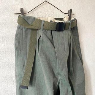 ヨウジヤマモト(Yohji Yamamoto)のdead stock vintage us.armyタイプ 垂らし ガチャベルト(ベルト)