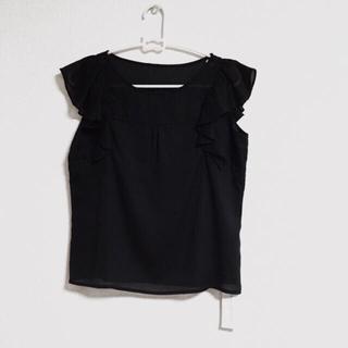 PROPORTION BODY DRESSING - 新品タグ付 プロポーションボディードレッシング 人気フリルブラウス  ブラック
