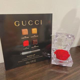 グッチ(Gucci)の【日本未上陸】GUCCI リップ【新品未開封】(口紅)
