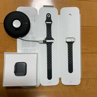 アップルウォッチ(Apple Watch)の専用 AppleWatch Series4 NIKE CELLULAR 44mm(腕時計(デジタル))