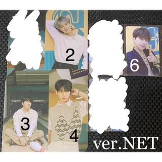 SEVENTEEN - SEVENTEEN☆ヘンガレ トレカ ブックマーク☆ver.NET☆4分割