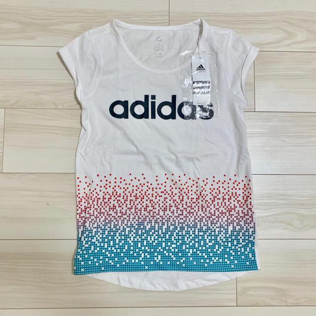 adidas(アディダス)の【新品】adidas アディダス Tシャツ レディースのトップス(Tシャツ(半袖/袖なし))の商品写真