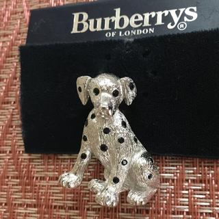バーバリー(BURBERRY)のダルメシアン ブローチ Burberry(ブローチ/コサージュ)
