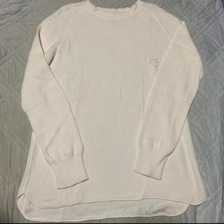 アンユーズド(UNUSED)のbukht Big Waffle White 1(Tシャツ/カットソー(七分/長袖))