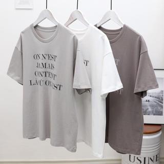 イエナ(IENA)の再入荷 イエナ ロゴ Tシャツ(Tシャツ(半袖/袖なし))