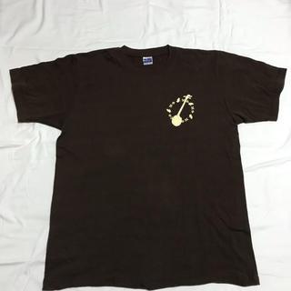 沖縄Tシャツ 茶色 XL  綿 USED (Tシャツ/カットソー(半袖/袖なし))