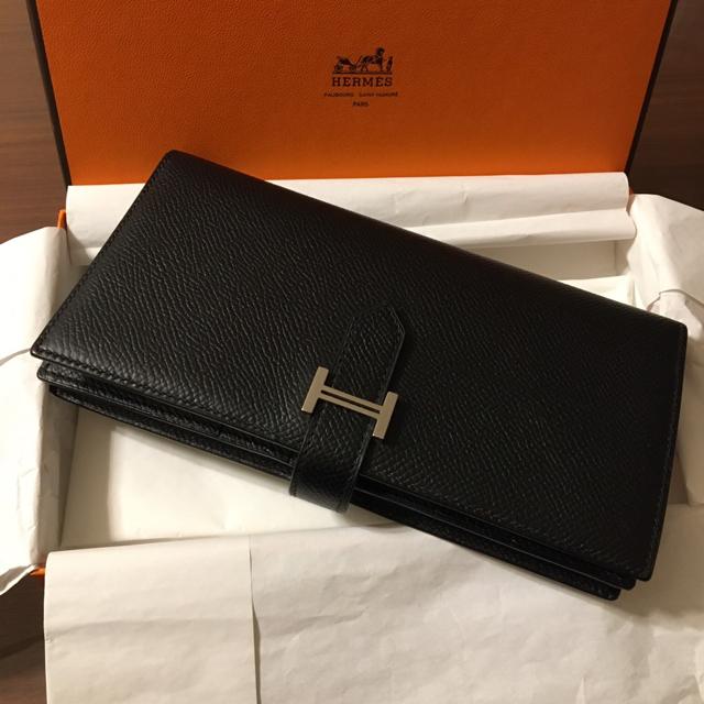 Hermes(エルメス)の【専用】エルメス 長財布 ベアン  スフレ レディースのファッション小物(財布)の商品写真