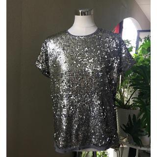 アバクロンビーアンドフィッチ(Abercrombie&Fitch)のアバクロスパンコールトップスみ(Tシャツ(半袖/袖なし))