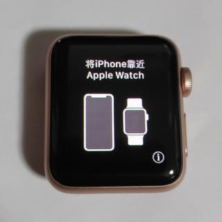 アップルウォッチ(Apple Watch)のApple Watch series3 GPSモデル 38mm(腕時計(デジタル))