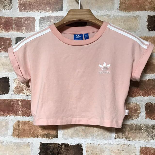 adidas(アディダス)のアディダス adidas  アディダスオリジナルス ショート丈 Tシャツ レディースのトップス(Tシャツ(半袖/袖なし))の商品写真