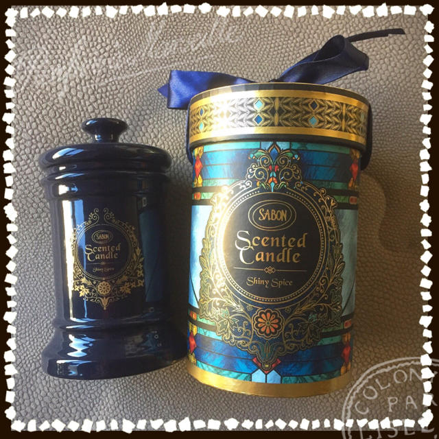 SABON(サボン)のSABON  アロマキャンドル  シャイニースパイス  ミスティークシャイン コスメ/美容のリラクゼーション(キャンドル)の商品写真