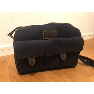 ラルフローレン(Ralph Lauren)の美品 ラルフローレン 黒 ショルダーバッグ(ショルダーバッグ)
