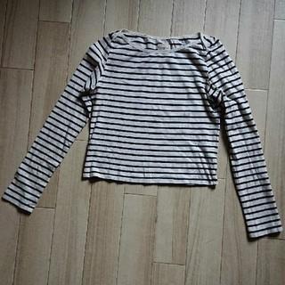 アングリッド(Ungrid)のUSED/アングリッド ラインボーダーTシャツ(Tシャツ(長袖/七分))